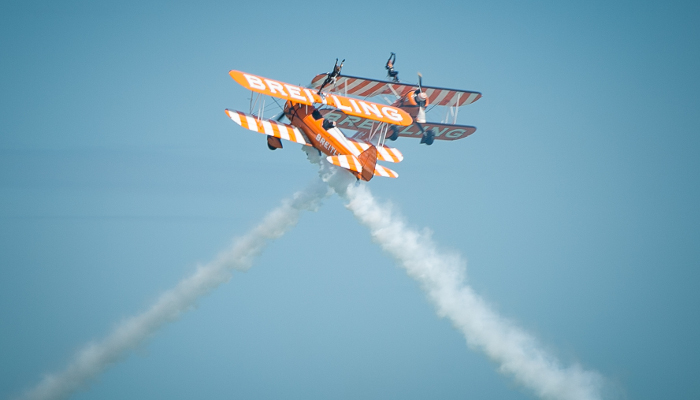 Airbourne Airshow Flying Line Up