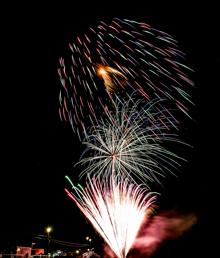 Airbourne Fireworks Display Finale