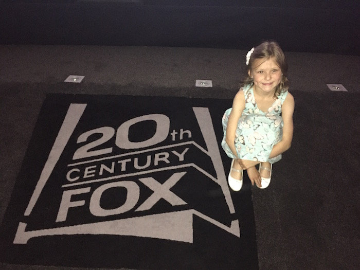 Bella with 20th Century Fox logo