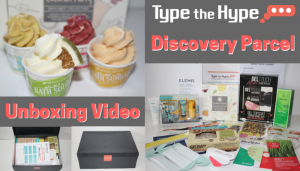 Type the Hype Discovery Parcel Unboxing Video