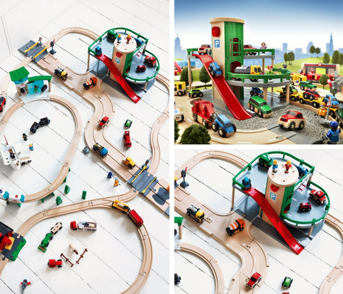 Brio collage all range