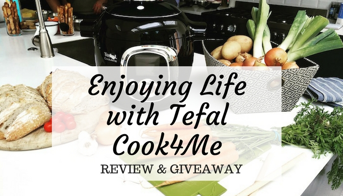 Enjoying Life with Tefal Cook4me Review