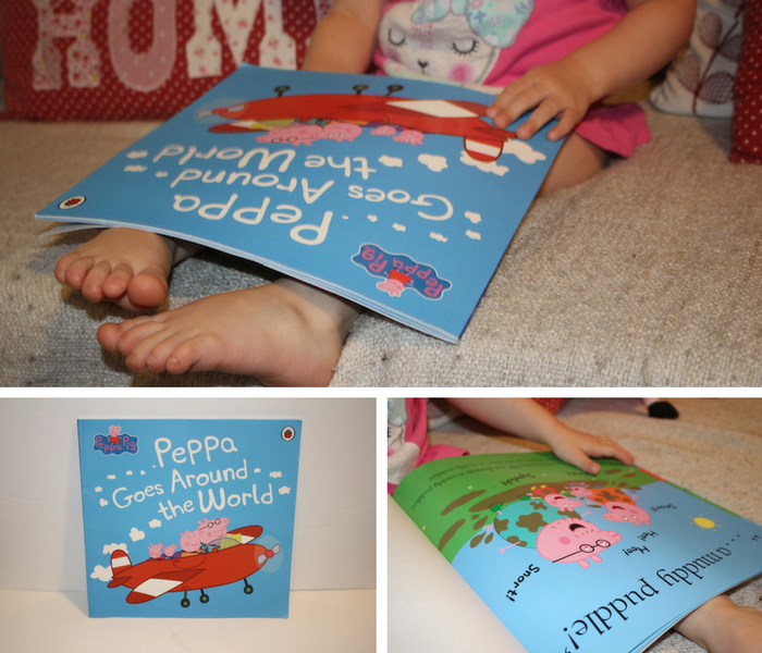 Peppa Goes Around the World Books collage 1