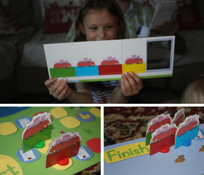 Peppa Party Time Race Games collage 2