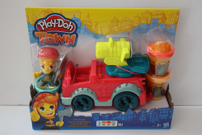 Play-Doh Fire Truck Box