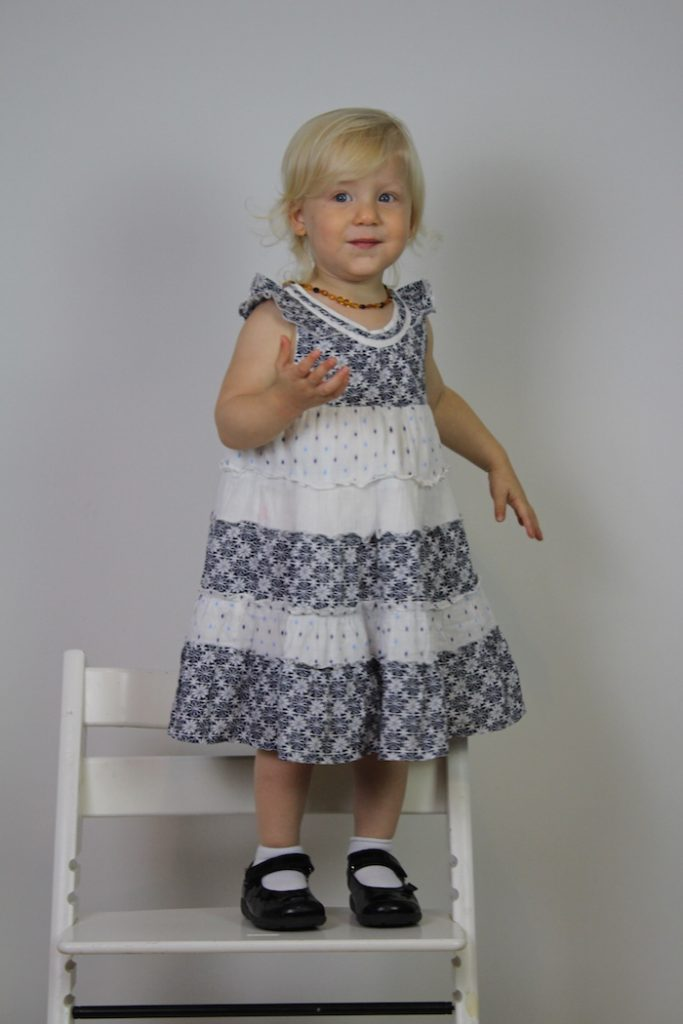Sienna modelling dress No 3