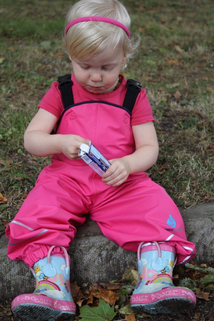 Sienna testing Dry Kids dungaree 4