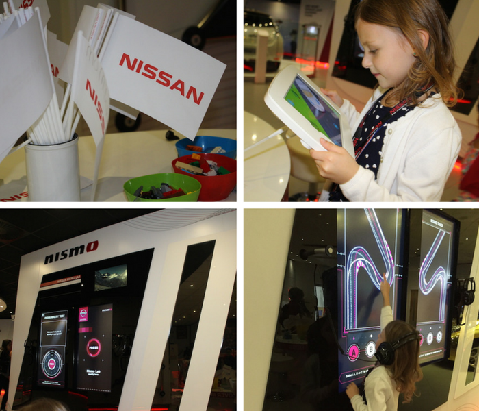 bella-playing-at-nissan-innovation-station