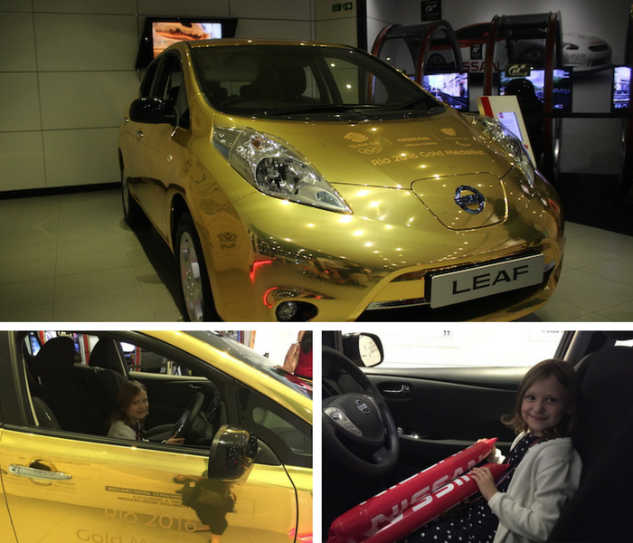 bella-testing-the-new-nissan-car-at-the-nis