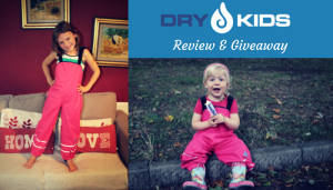 Dry Kids Waterproof Trousers Review & Giveaway