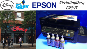 #PrintingDory with Epson and Disney