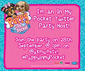 Puppy In My Pocket Twitter Party