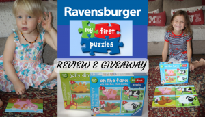Ravensburger My First Puzzles Review & Giveaway