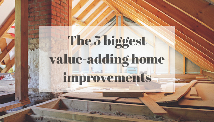 The 5 biggest value-adding home improvements FI