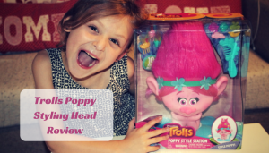 Trolls Poppy Styling Head Review