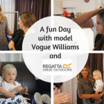 A Fun Day With Model Vogue Williams & Regatta Outdoors