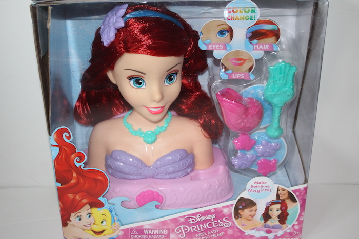 Disney Princess Ariel Bath Styling Head Review A Moment With Franca