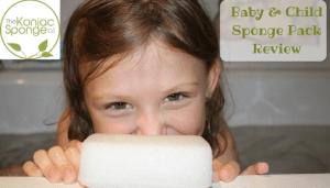 Konjac Sponges Baby & Child Sponge Pack Review