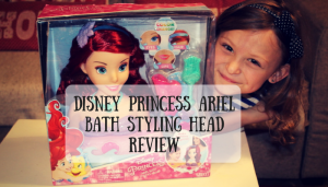 Disney Princess Ariel Bath Styling Head Review