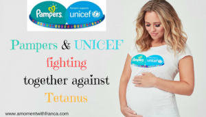 Pampers & UNICEF fighting together against Tetanus