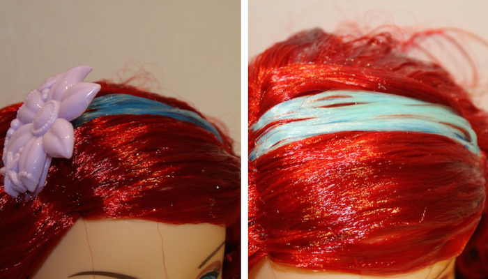 teal-hair-strand-colour-change
