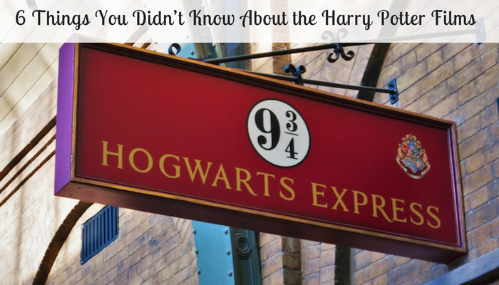 Things you didn t know about the harry potter films a moment