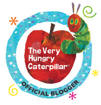 The Very Hungry Caterpillar Blogger Badge