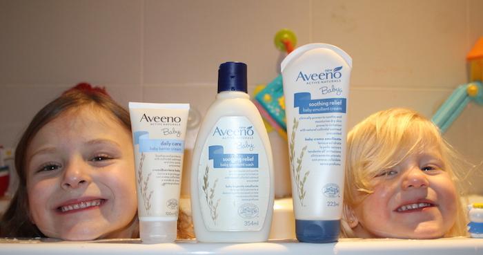 Aveeno Baby Range Set 4