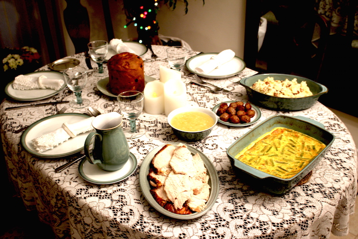 Christmas Table - Option 1 - AMWF