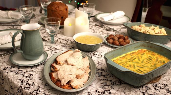 Christmas Table - Option 3 - AMWF