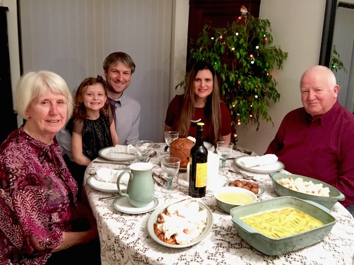 Family Photo - Before Dinner - AMWF
