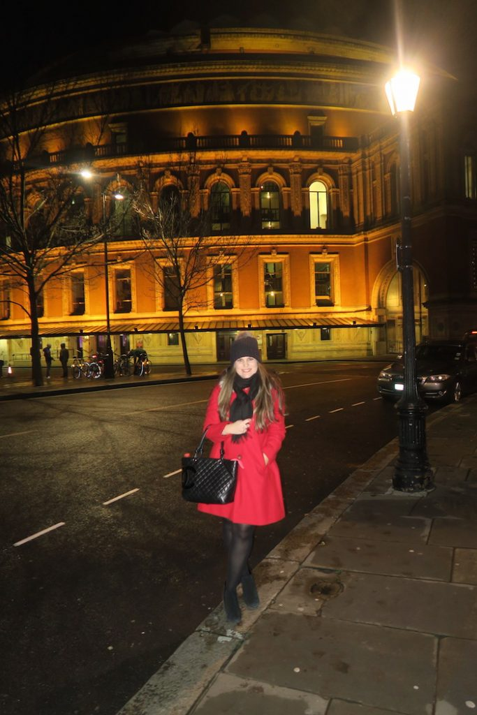 Outside Royal Albert Hall 2