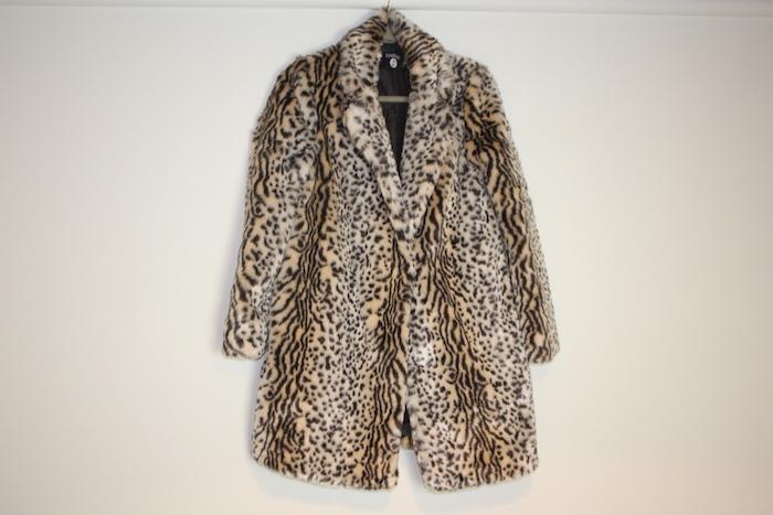 Boohoo Leopard coat 1