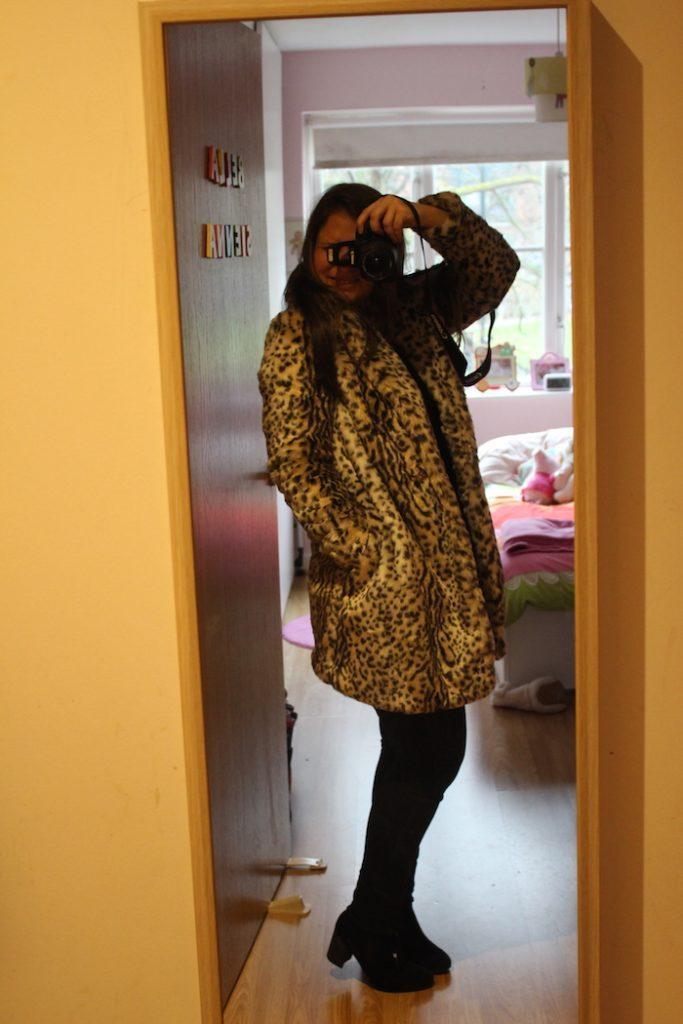 Boohoo Leopard coat 2