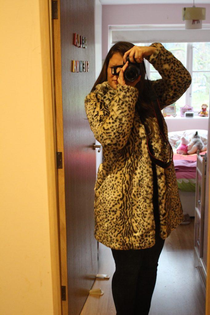 Boohoo Leopard coat 3