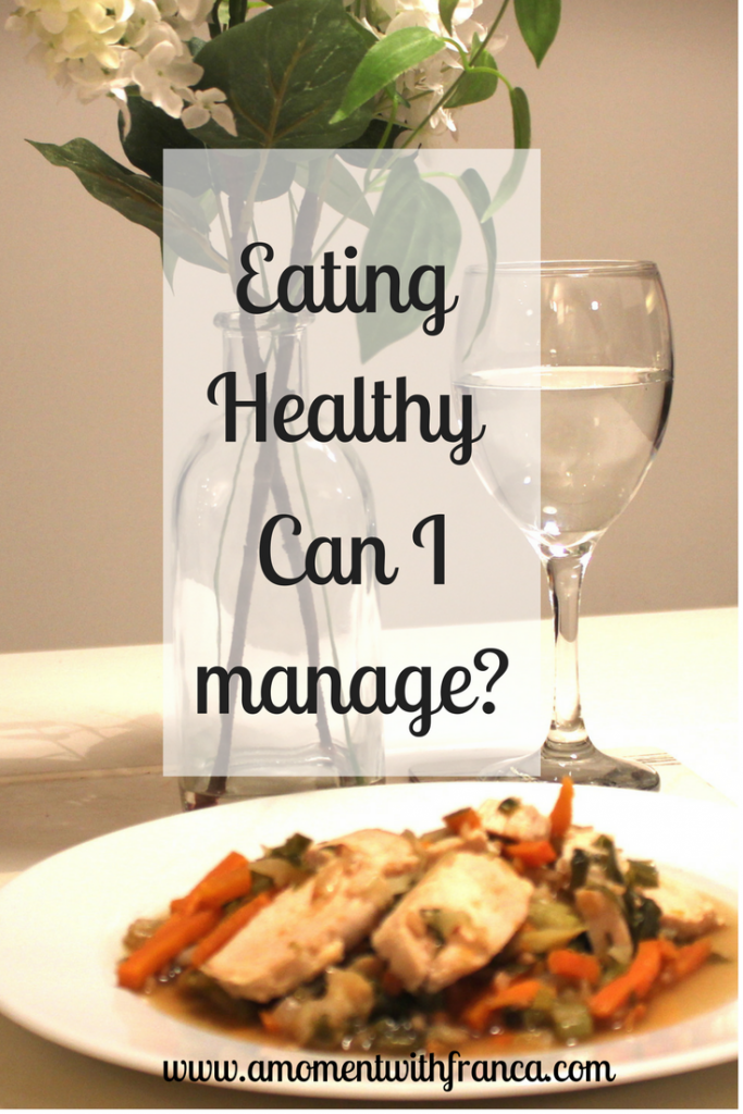 Eating healthy - Can I manage- - Pin