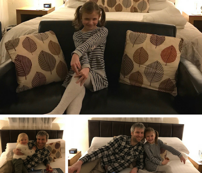 Family session at our room at The Ellerby