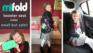 Mifold booster seat review – small but safe?