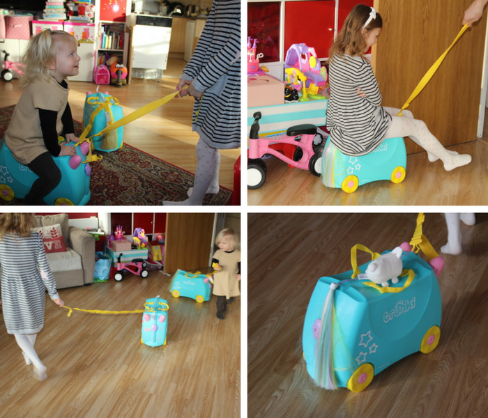 Towing the Trunki