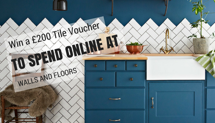 Win a £200 Tile Voucher To Spend Online at Walls and Floors