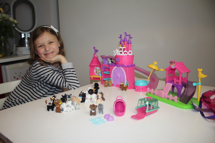 4. Bella with all her PIMP collection