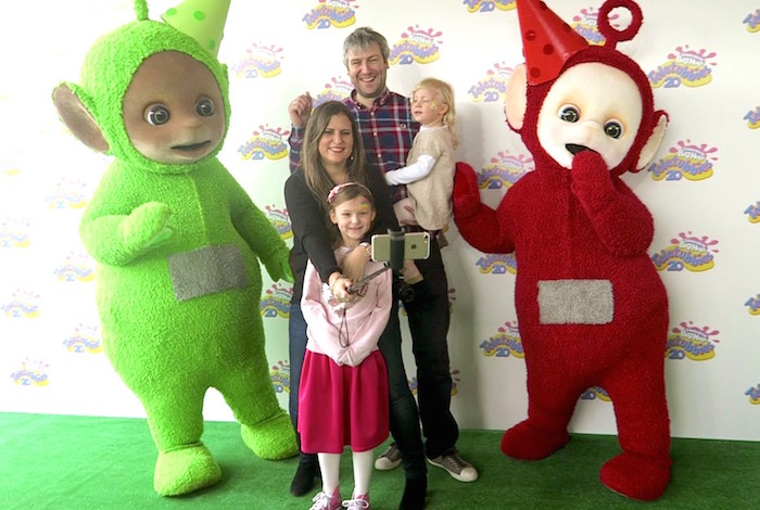 AMWF with the Teletubbies