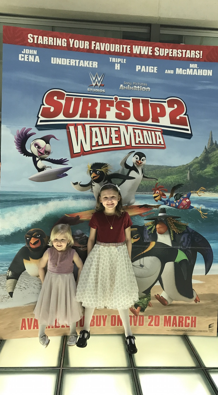 Bella & Sienna at Surf Up 2 event