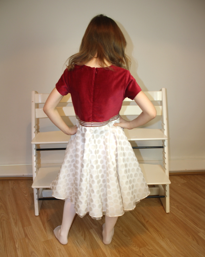 Bella modelling MyTwirl dress 2