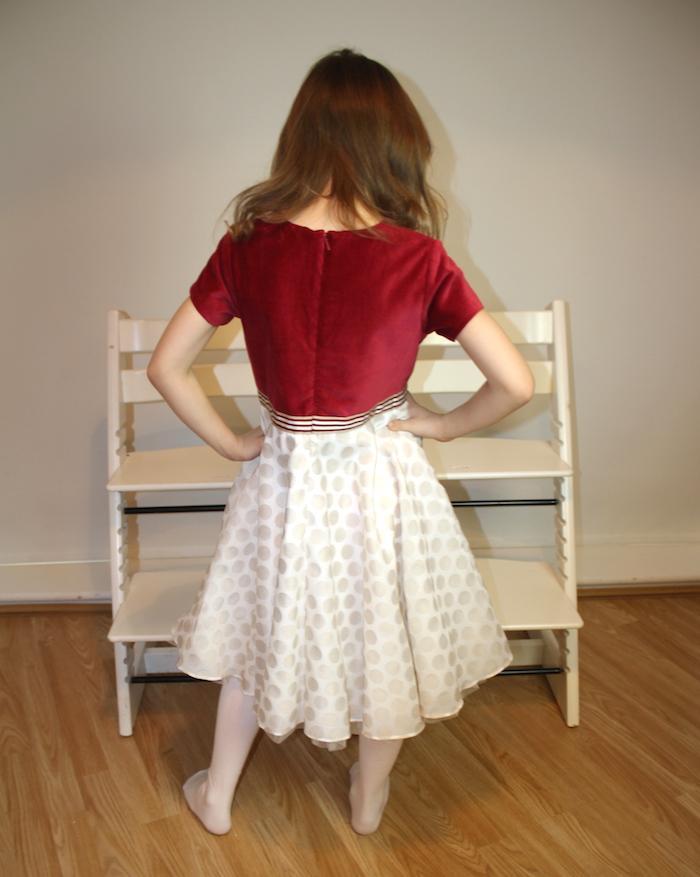 Bella modelling MyTwirl dress 2