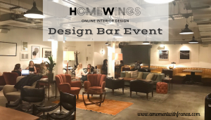 Homewings Design Bar Event