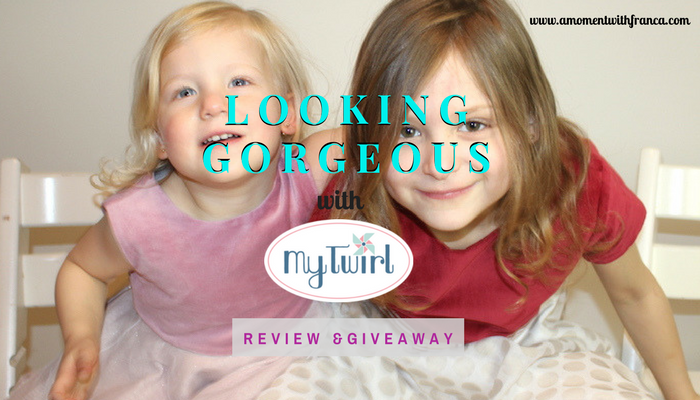 Looking Gorgeous with MyTwirl - Review & Giveaway v2