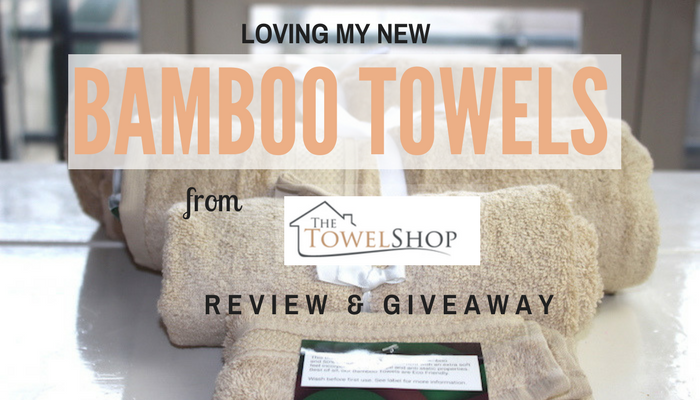 Loving My New Bamboo Towels From The Towel Shop - Review & Giveaway