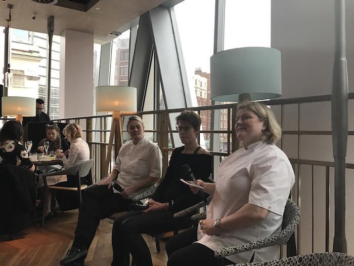 Panel of chefs