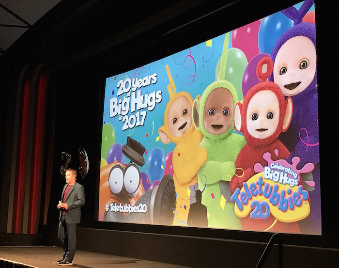 Presentation of series 2 of Teletubbies